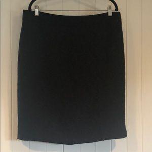 Ann Taylor Black Lace Pencil Skirt - NWT - Size 16